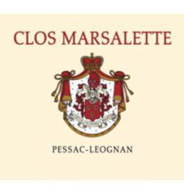 Clos Marsalette Pessac-Leognan 2015