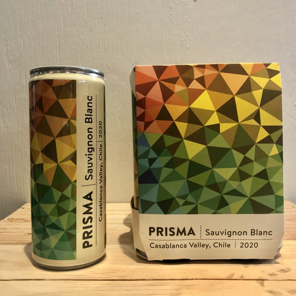 Prisma Sauvignon Blanc 2020 250mL Cans 4-Pack