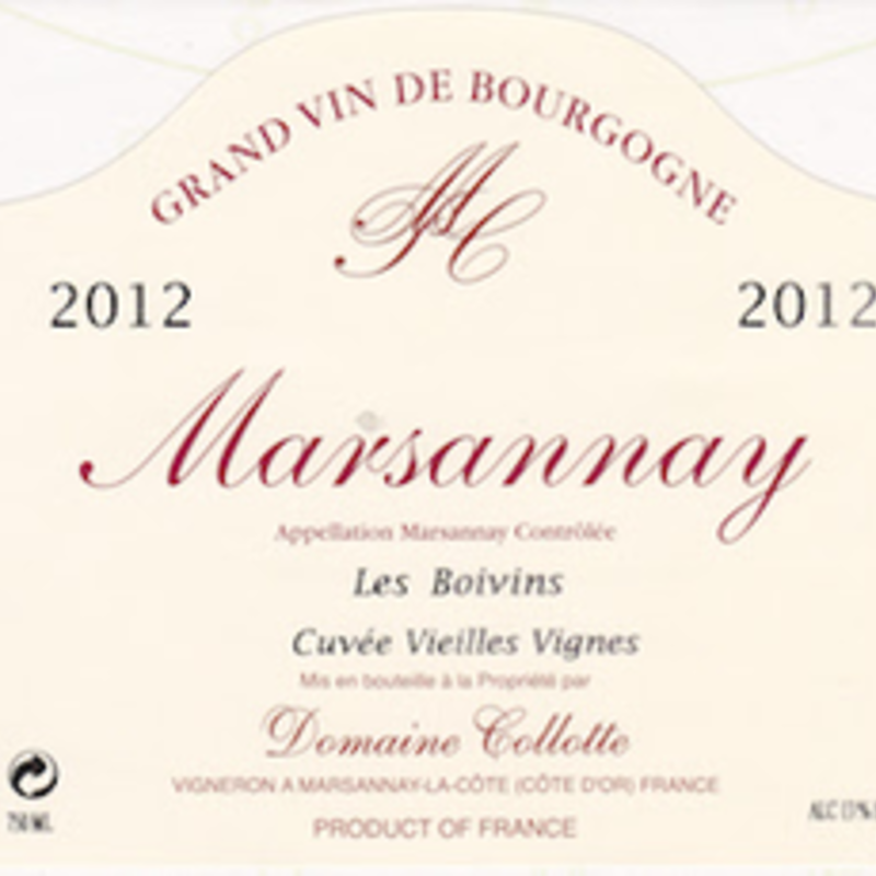 "Domaine Collotte ""Les Boivin"" Marsannay 2017"