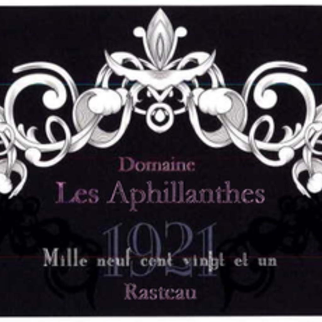 """Domaine Les Aphillanthes """"Rasteau Cuvee 1921"""" 2017"""