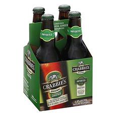 Crabbie's Original Alcoholic Ginger Beer 4-Pack