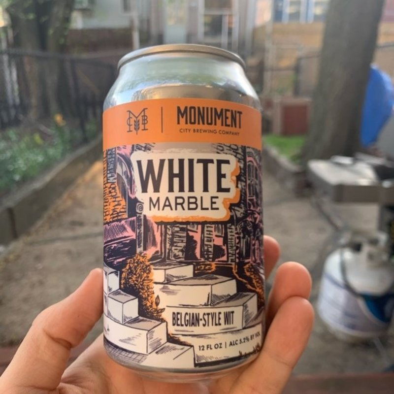 Monument City Brewing White Marble Wit 6-Pack