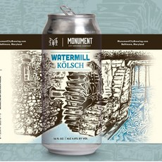 Monument City Brewing Watermill Kolsch 4pk