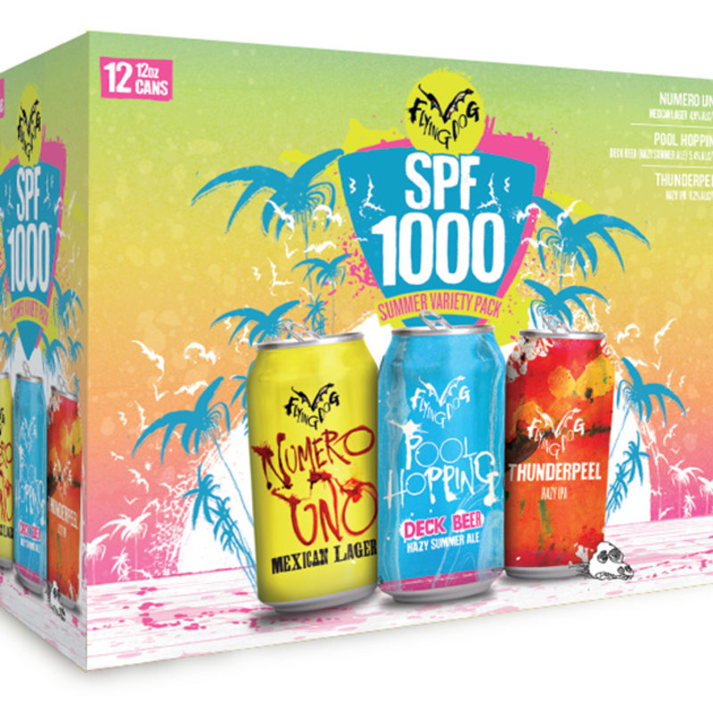 Flying Dog SPF 1000 Summer Variety Pack 12pack