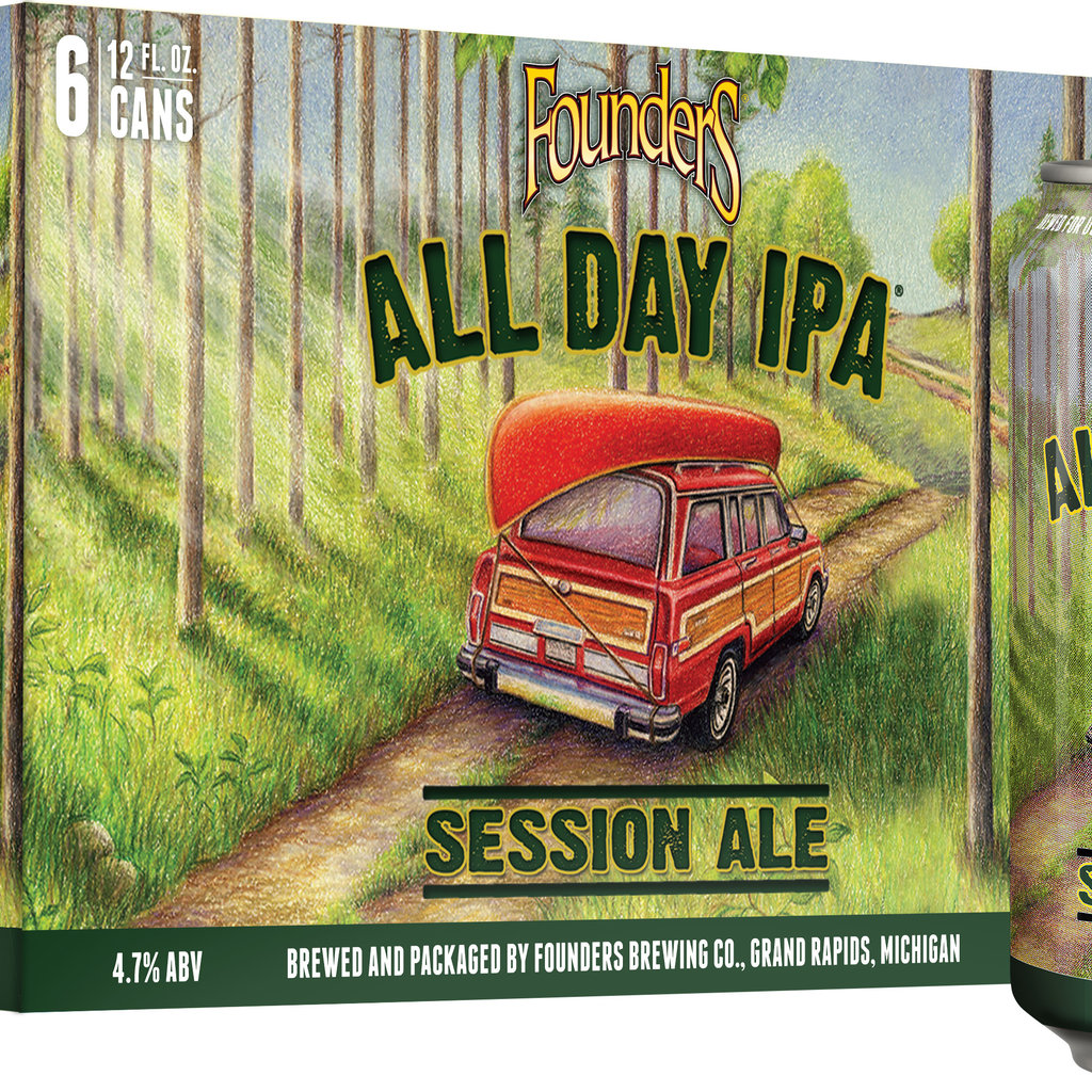 Founder's All Day IPA Session Ale 6-Pack