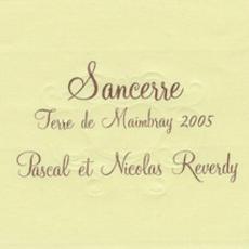 """Pascal et Nicolas Reverdy """"Terre de Maimbray"""" Sancerre Rouge 2018"""