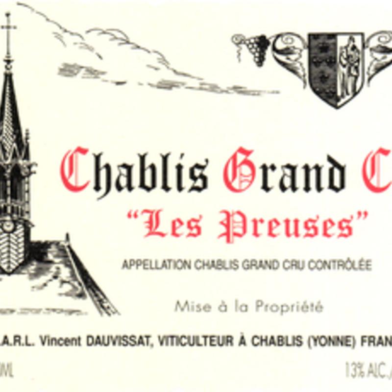 "J & S Dauvissat ""Les Preuses"" Grand Cru Chablis 2017"