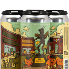 """Charm City Meadworks """"Out of Left Field"""" Draft Mead 4-Pack"""