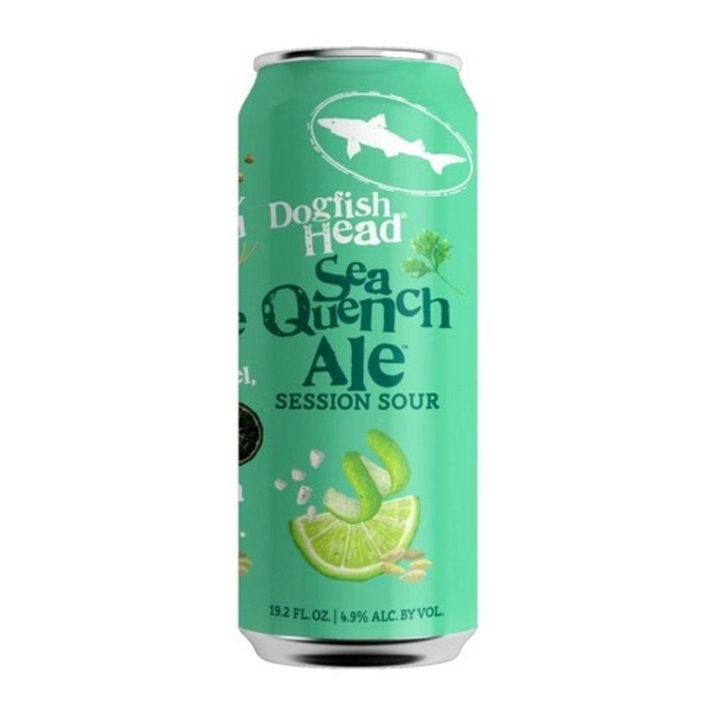 Dogfish Head Brewery Seaquench Ale Session Sour Tall Boy Single Can