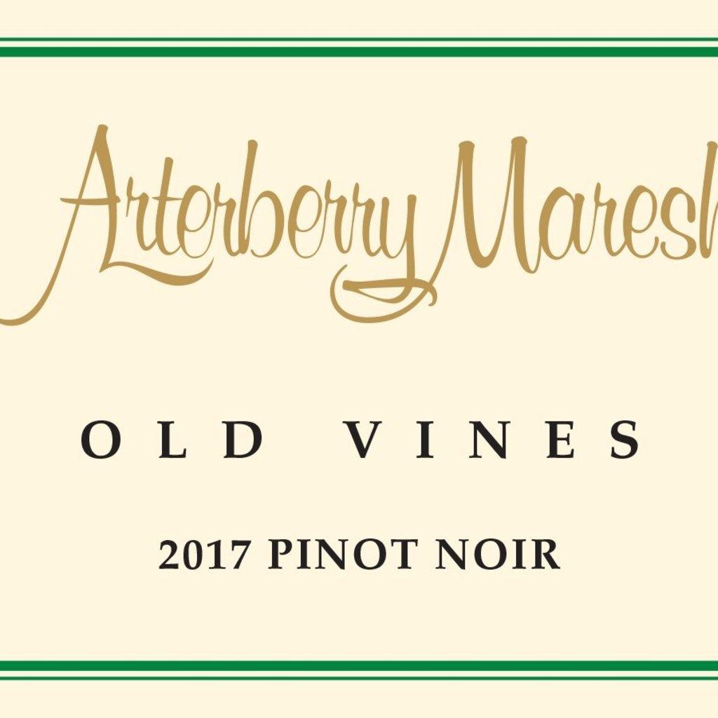 Arterberry  Old Vines Pinot Noir 2017