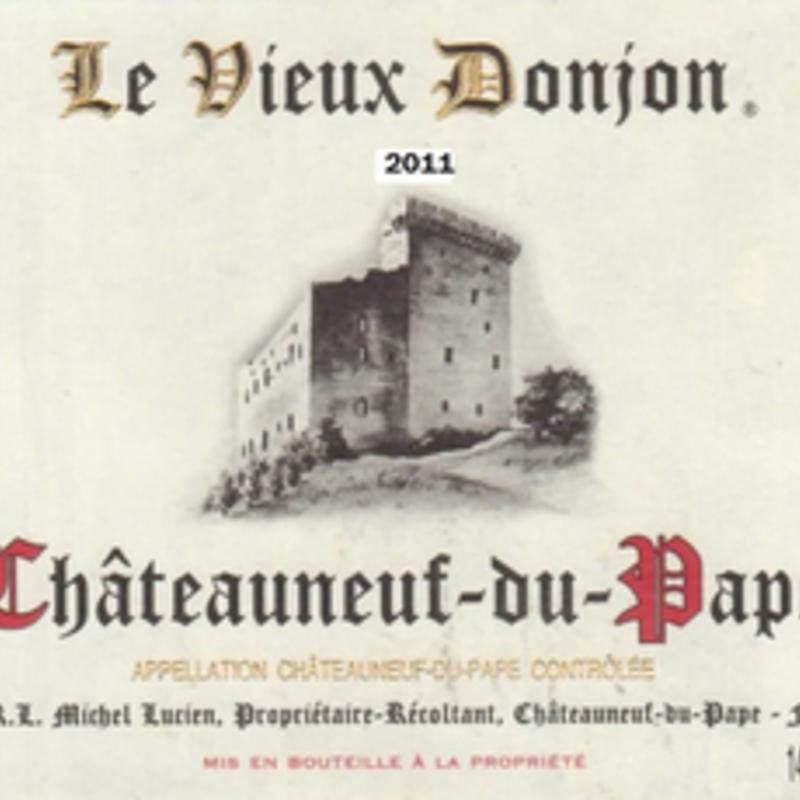 Vieux Donjon CdP Rouge 2018