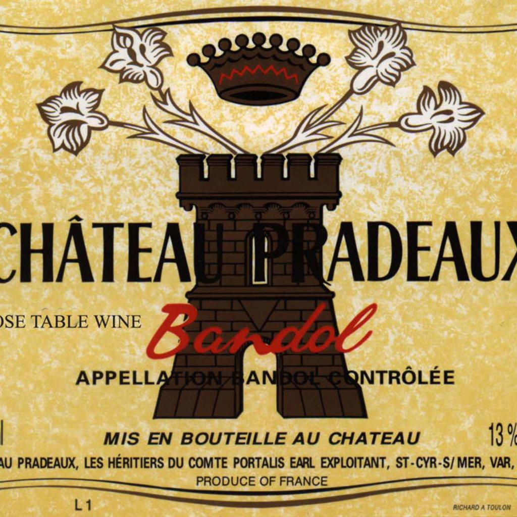 Chateau Pradeaux Bandol Rose 2020