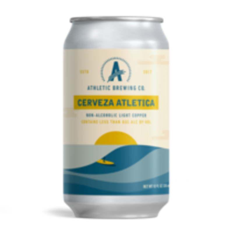 """Athletic Brewing Company """"Cerveza Atletica"""" Non-Alcoholic  6-Pack"""