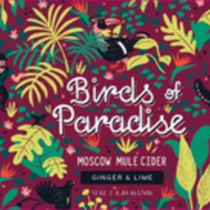 """Graft """"Birds of Paradise"""" Moscow Mule Cider 4-Pack"""
