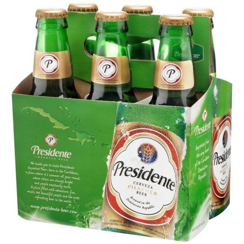 Presidente Cerveza 6-Pack