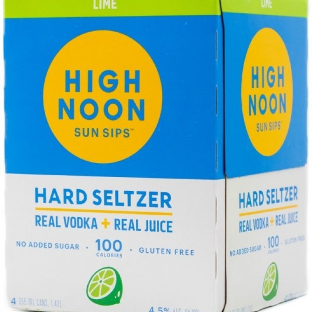 High Noon Lime Hard Seltzer 4-Pack