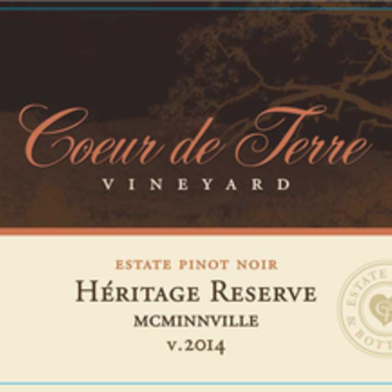 Coeur de Terre Heritage Pinot Noir 2015