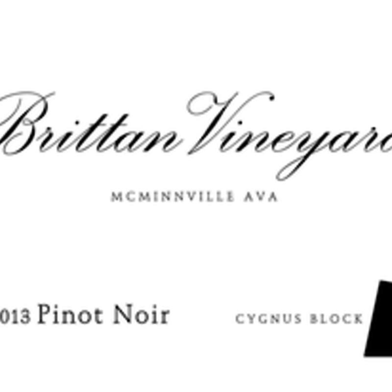 Brittan Vineyard Cygnus Block Pinot Noir 2016
