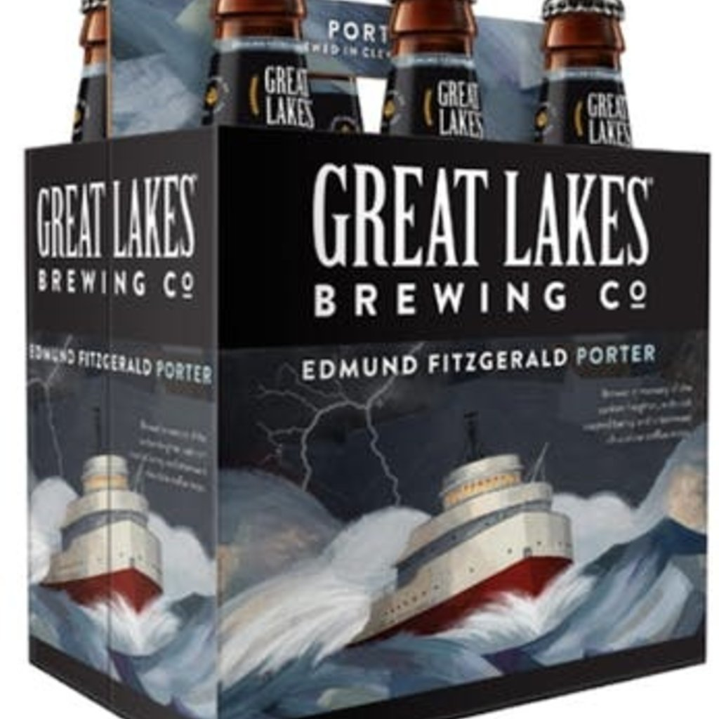 Great Lakes Brewing Edmund Fitzgerald Porter 6-Pack
