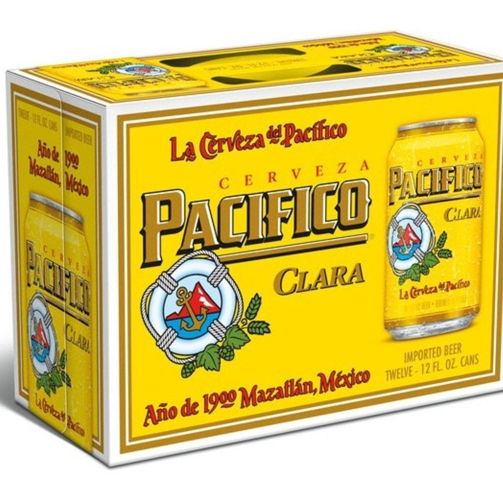Pacifico Clara Cerveza 12-Pack