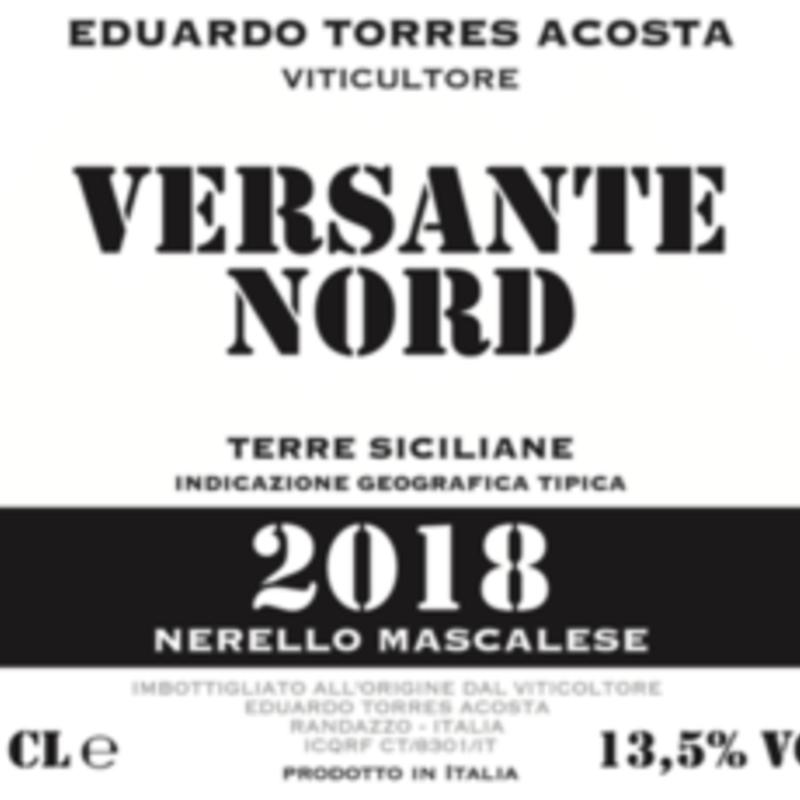 "Acosta ""Versante Nord"" Nerello Mascalese 2018"
