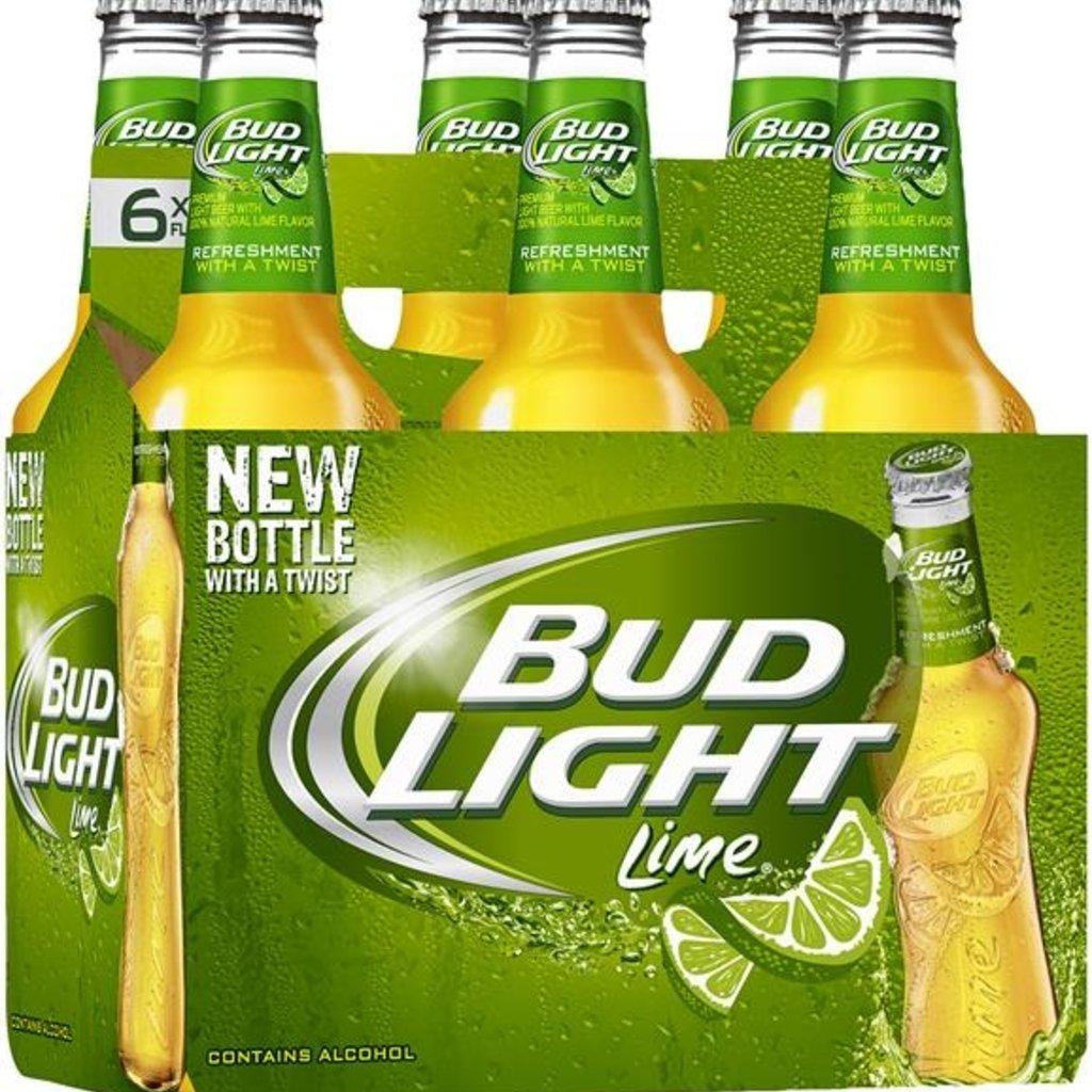 Bud Light Lime 6-Pack Bottle