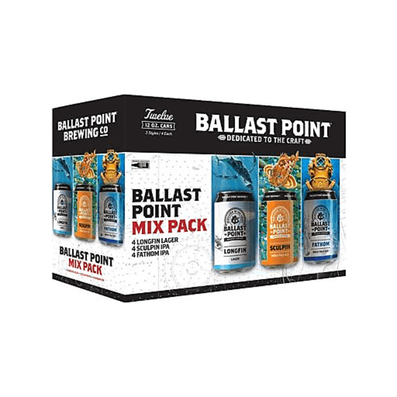 Ballast Point Mix 12-Pack