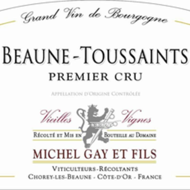 Michel Gay et Fils Beaune-Toussaints 1er Cru 2017
