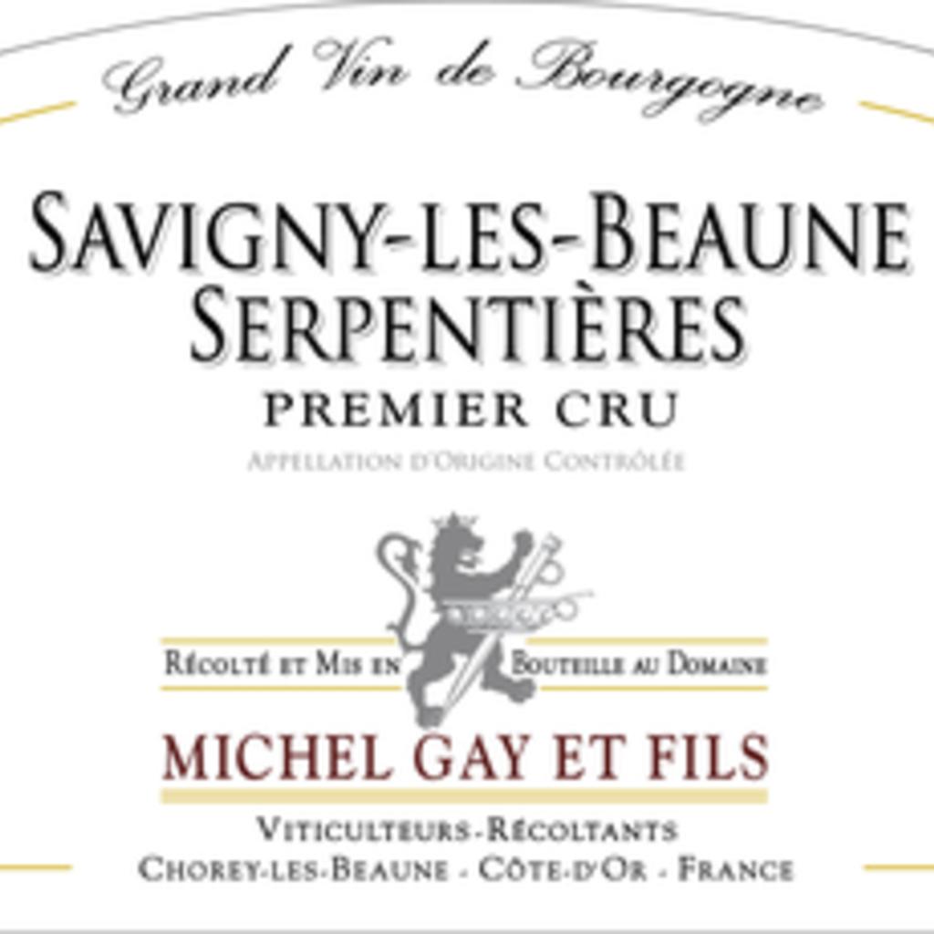Michel Gay et Fils Savigny-les-Beaune Serpentieres 1er Cru 2017