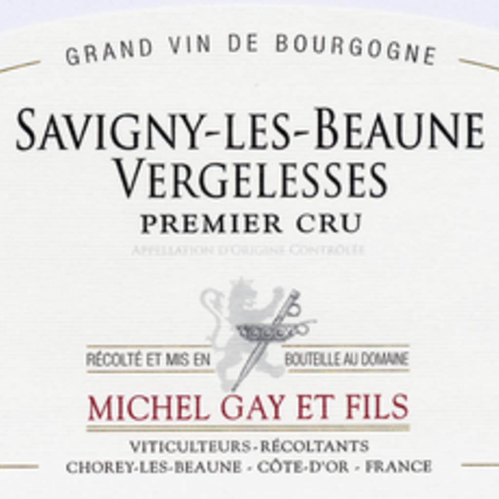 Michel Gay et Fils 2017 Savigny-les-Beaune Vergelesses 1er Cru