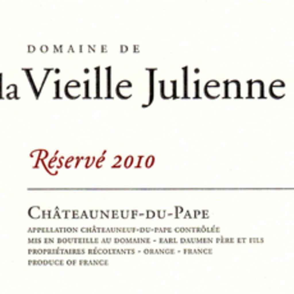 Domaine de la Vieille Julienne CdP Reserve 2017