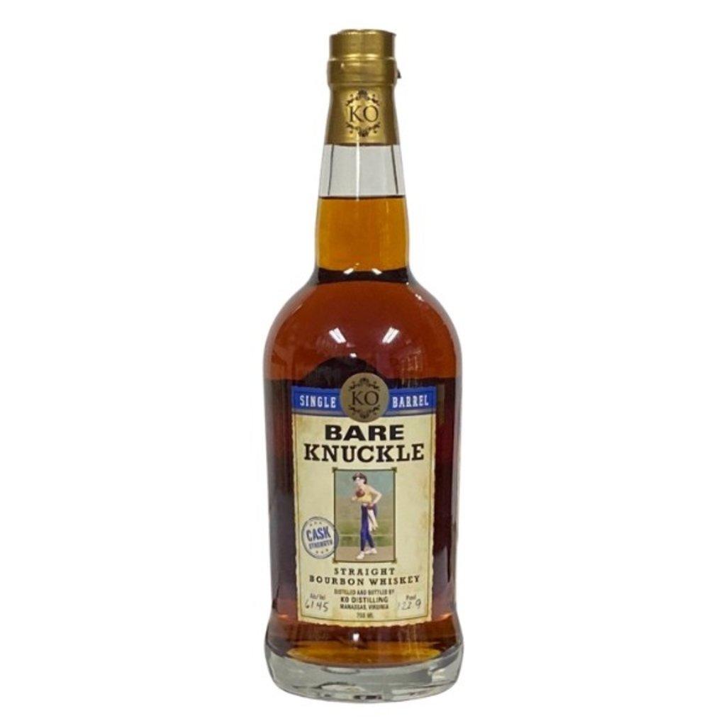 KO Distilling Bare Knuckle Straight Bourbon Whiskey