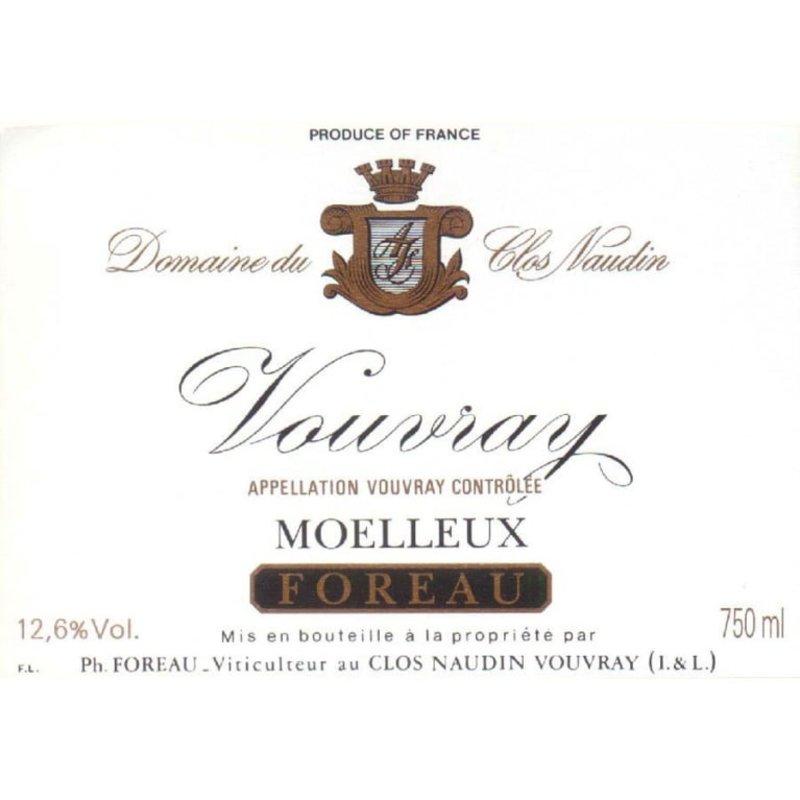 "Foreau ""Reserve"" Moelleux 2015"