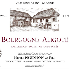 Prudhon Bourgogne Aligote 2018