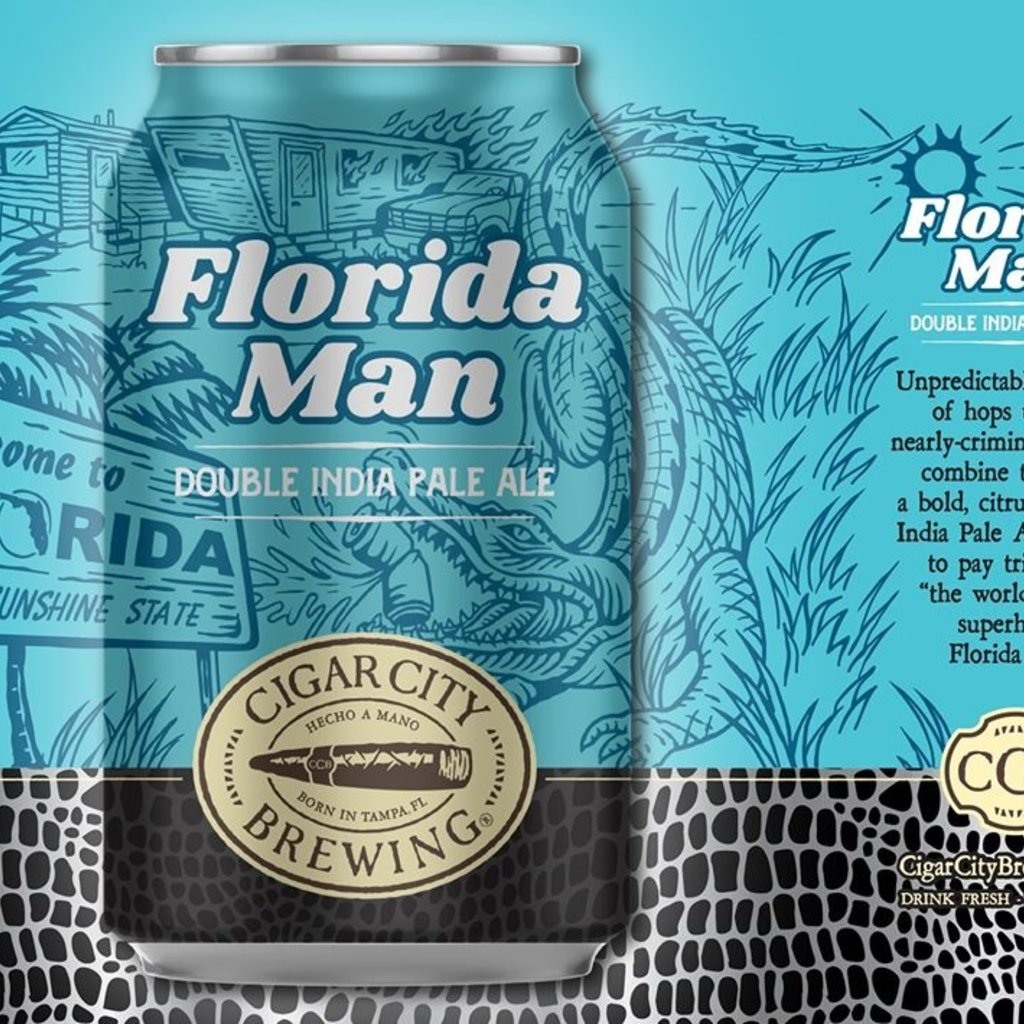 "Cigar City Brewing ""Florida Man"" Double IPA 6-pack"
