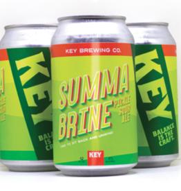 "Key Brewing Company ""Summa Brine"" Pickle Sour Ale 6pack"