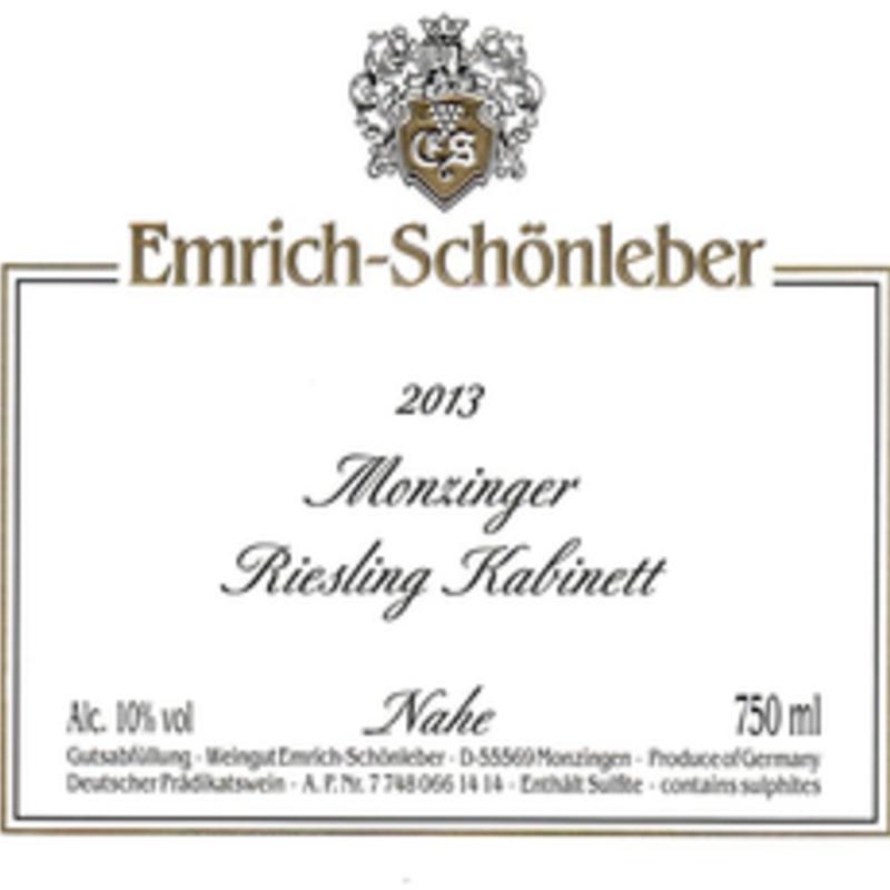 "Emrich-Schonleber ""Monzinger"" Riesling Kabinett 2019"