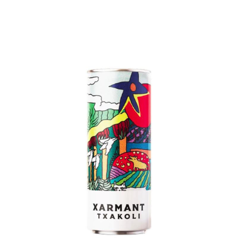 Xarmant Txakoli 250mL Cans 4-Pack