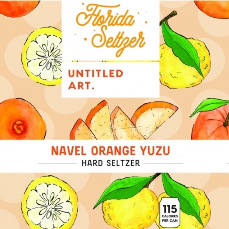 """Untitled Art """"Navel Orange Yuzu"""" Florida Seltzer 6-pack"""