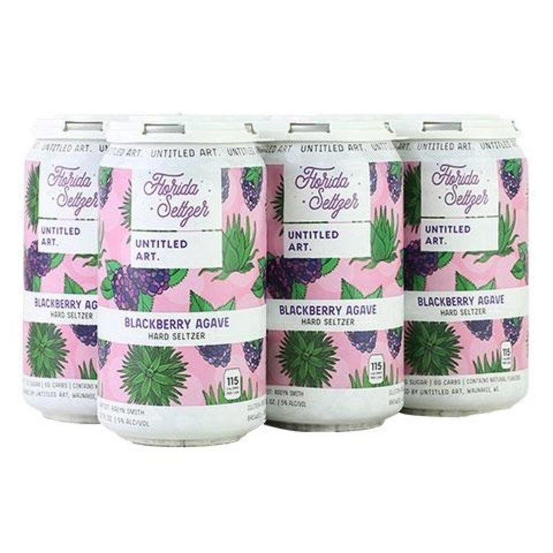 "Untitled Art ""Blackberry Agave"" Florida Seltzer 6-pack"