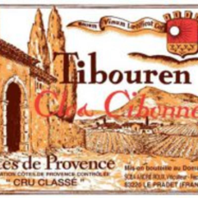 Clos Cibonne Tibouren Rouge 2020