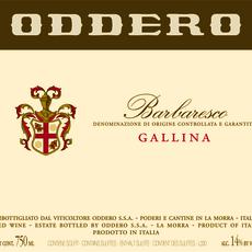"Oddero ""Gallina"" Barbaresco 2015"