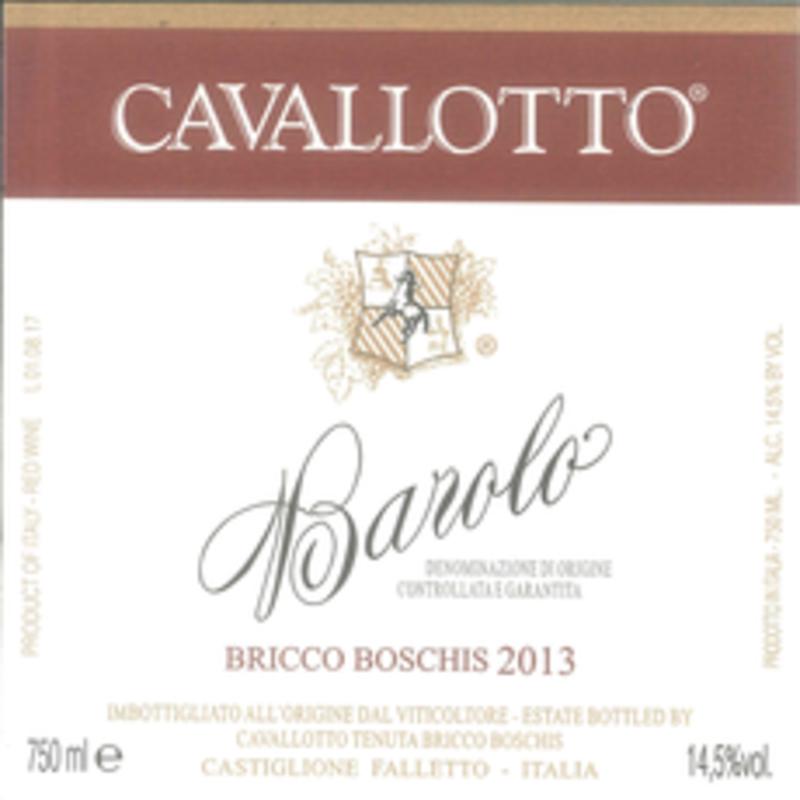Cavallotto Bricco Boschis Barolo 2015