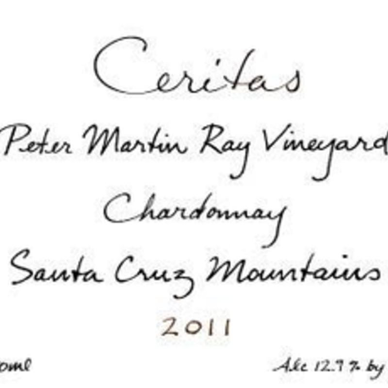 """Ceritas """"Peter Martin Ray"""" Santa Cruz Chardonnay 2019"""