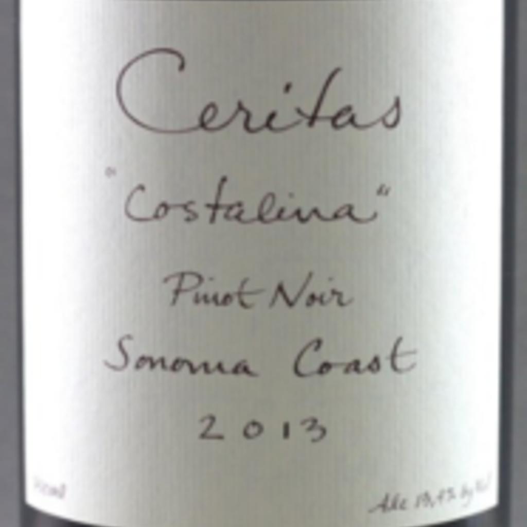 """Ceritas """"Costalina"""" Sonoma Coast Pinot Noir 2019"""