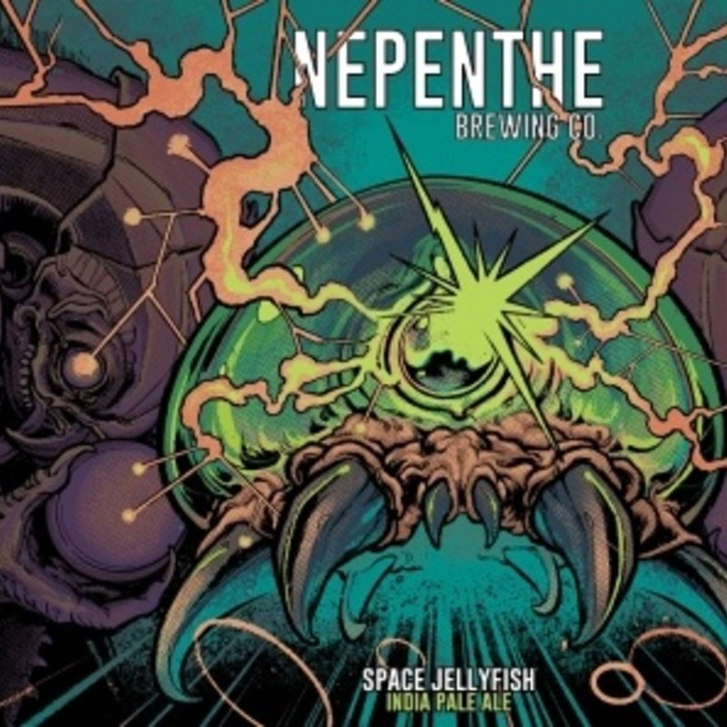 """Nepenthe Brewing Company """"Space Jellyfish"""" IPA 4-pack"""