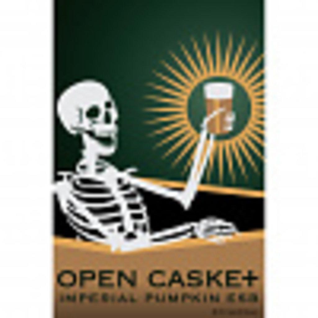 """AleCraft Brewery """"Open Casket"""" Imperial Pumpkin ESB 4pack"""