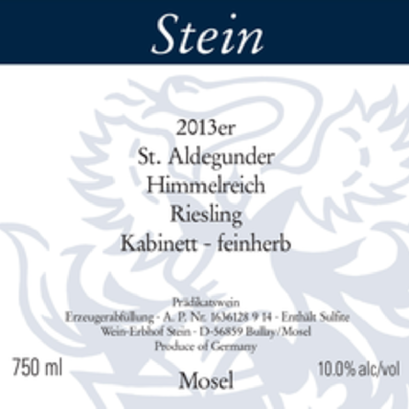 """Stein """"Himmelreich"""" Riesling Kabinett Feinherb 2020"""