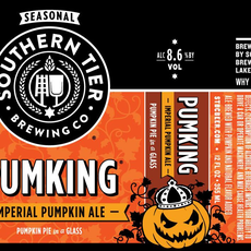 """Southern Tier Brewing """"PumpKing"""" Nitro Imperial Pumpkin Ale 4-Pack"""
