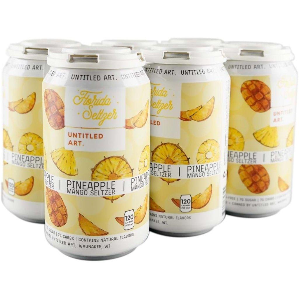 Untitled Art Pineapple Mango Hard Seltzer 6pack